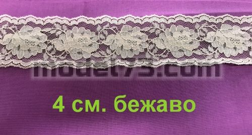 Polyester lace 7cm.