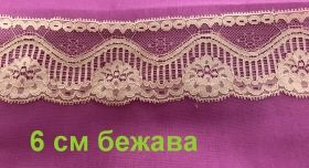 Polyester lace 5cm.