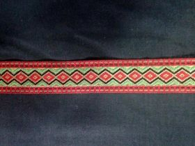 Decorative ribbon 3.5 cm